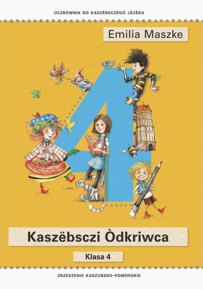 Kaszëbsczi òdkriwca Podręcznik Do Klasy 4 Płyta Cd